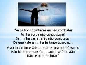 Viver pra mim é Cristo
