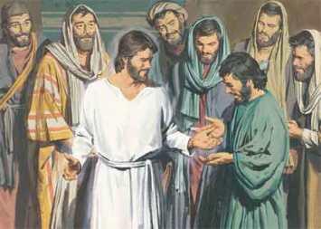 Tocando em Jesus