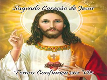 Sagrado Coração de Jesus tmos confiança em vós